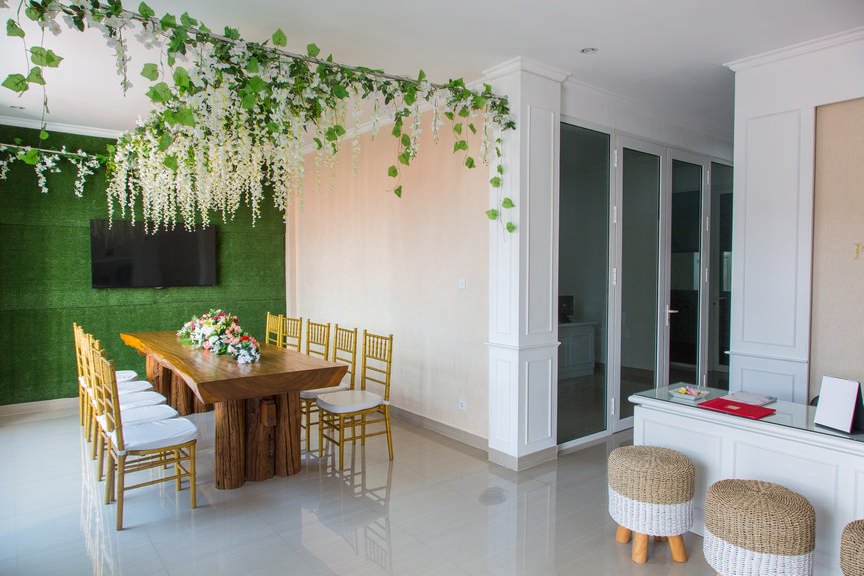 Bali amazing wedding office