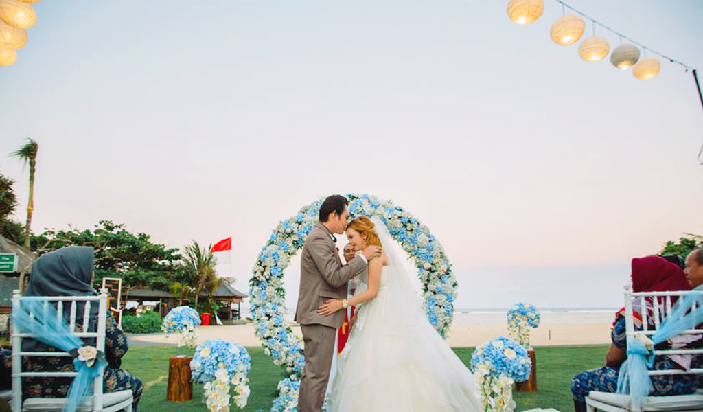 Bali Beach Wedding held in Nusa Dua